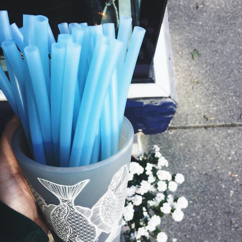 Straw Blue