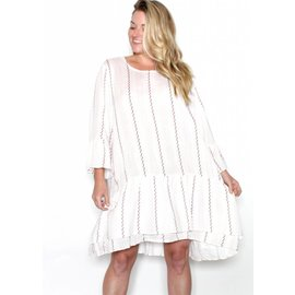SHERRI PRINTED BELL SLEEVE DRESS