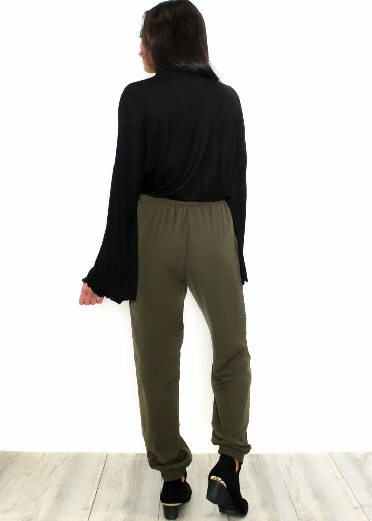 HOLLY OLIVE JOGGERS