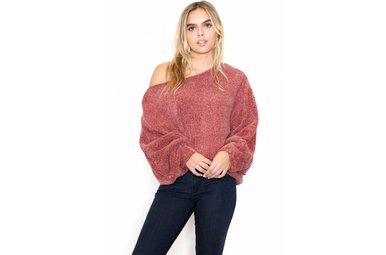 BOBBI CHENILLE OVERSIZED SWEATER