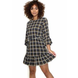 DELANEY GEOMETRIC PRINT DRESS