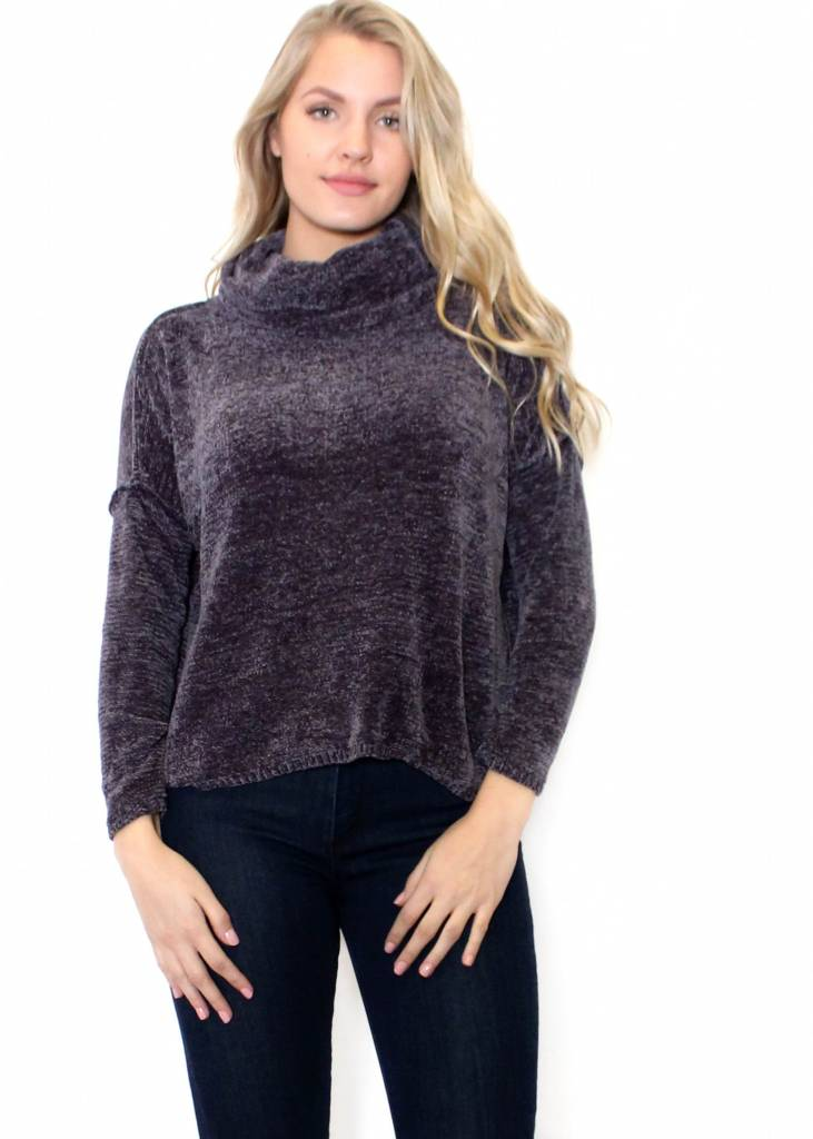 BAILEY COWL NECK SWEATER