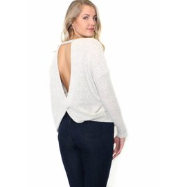 SANDY OPEN BACK SWEATER