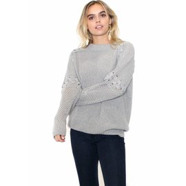 MOLLY GREY KNIT SWEATER