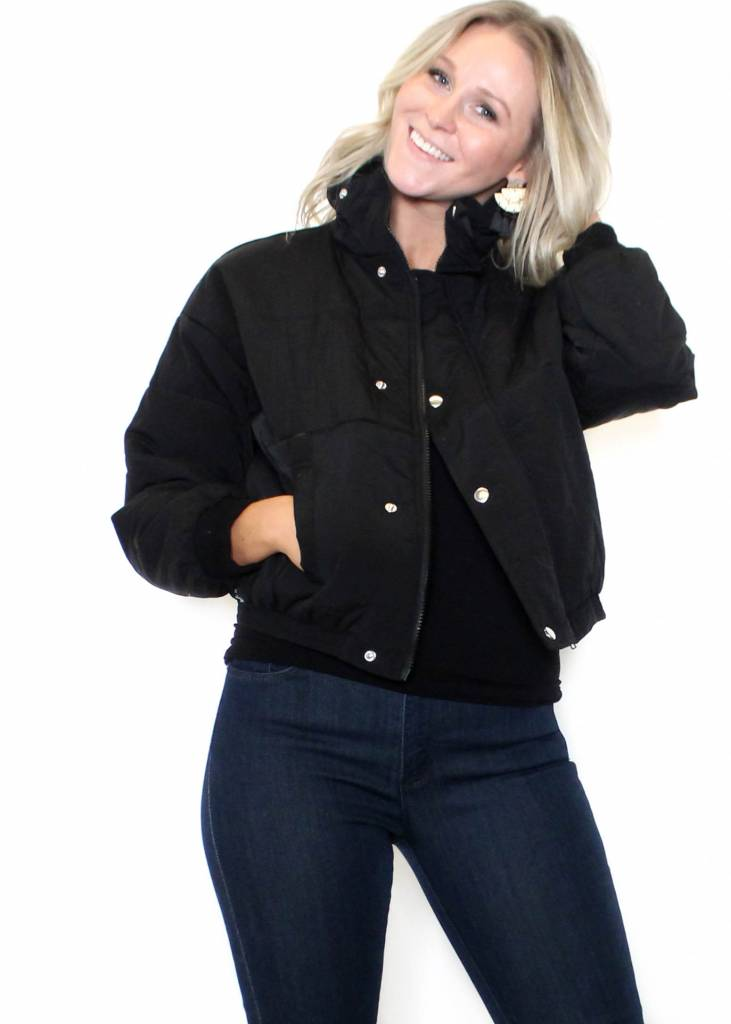 PARKER PUFFER CROPPED JACKET