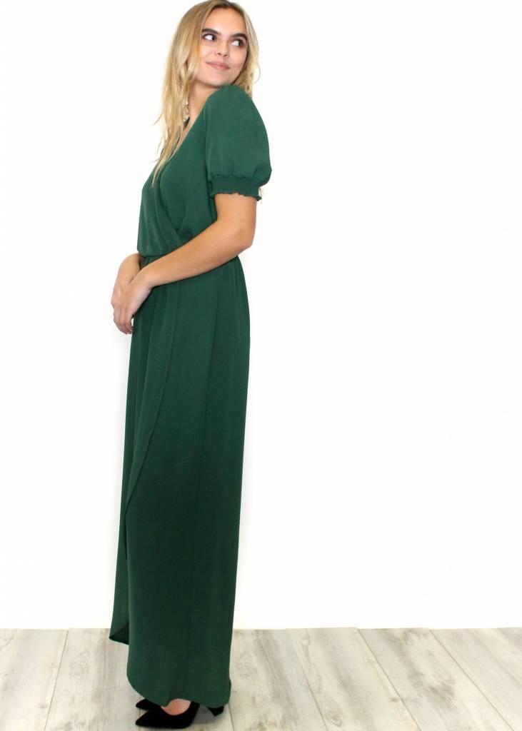 MARY GREEN MAXI DRESS