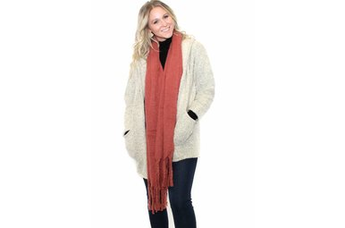 BRINLEY HOODED CARDIGAN