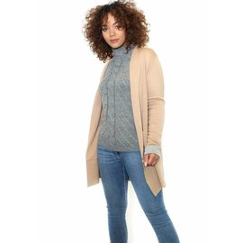 MORNING STROLL BEIGE CARDIGAN