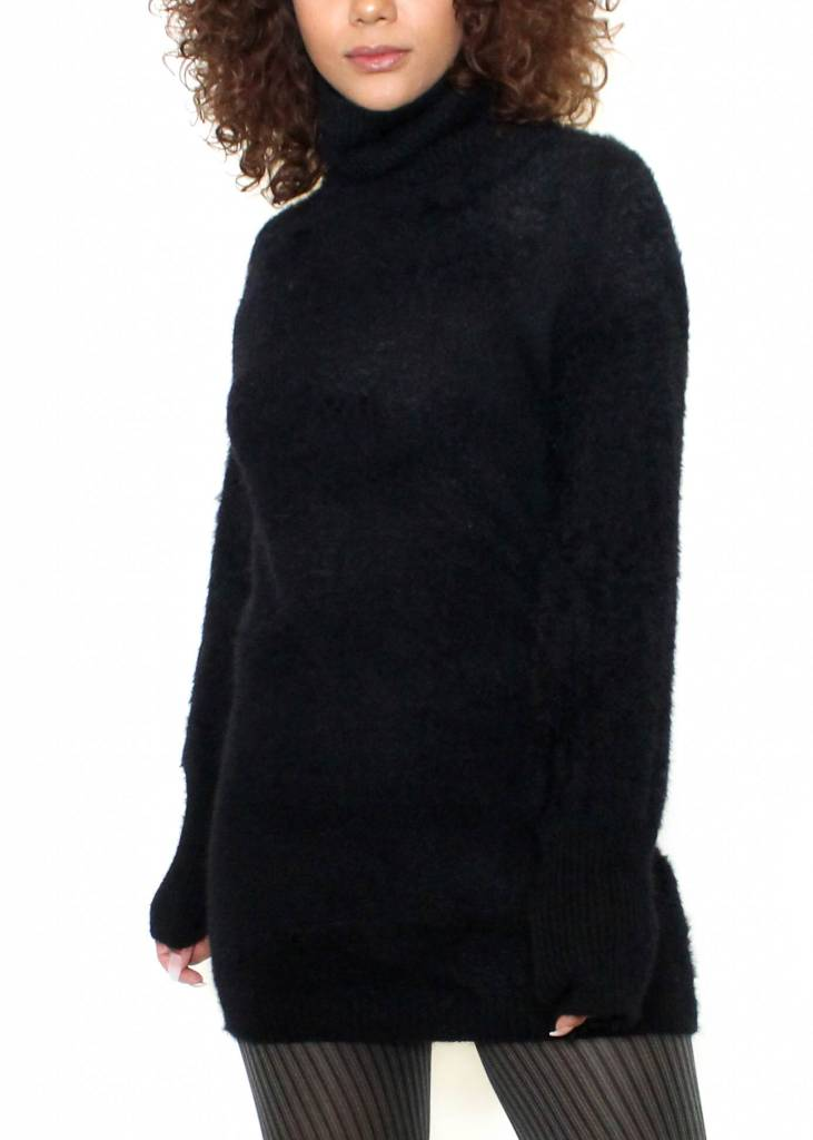 JORDAN TURTLENECK SWEATER DRESS