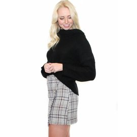 CHEYENNE TWEED MINI SKIRT