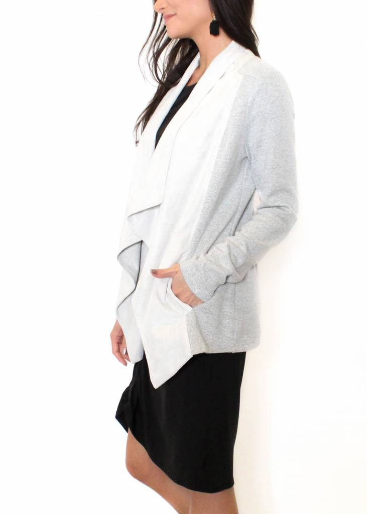 NICOLE KNIT OPEN JACKET
