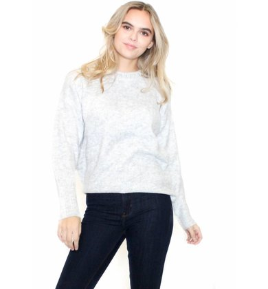 EVELYN EMBELLISHED SWEATER