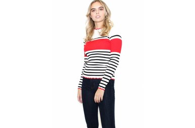 LONDON STRIPED TOP