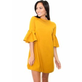 ANNIE BELL SLEEVE DRESS