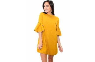 ANNIE BELL SLEEVE DRESS