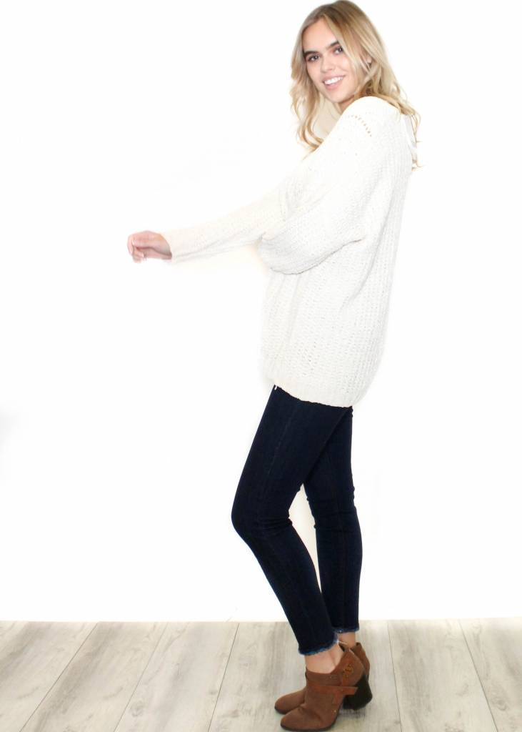 CAMILLE CREAM KNIT SWEATER