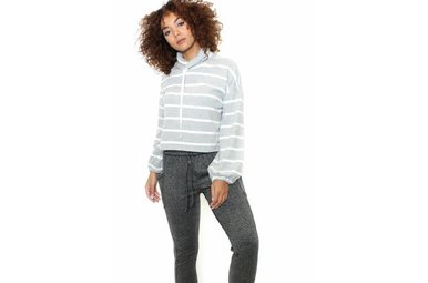 ANDREA CROPPED SWEATSHIRT