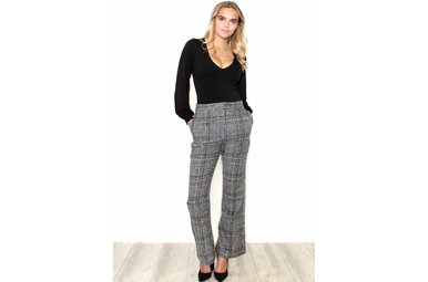 JOANNA PLAID BOTTOMS