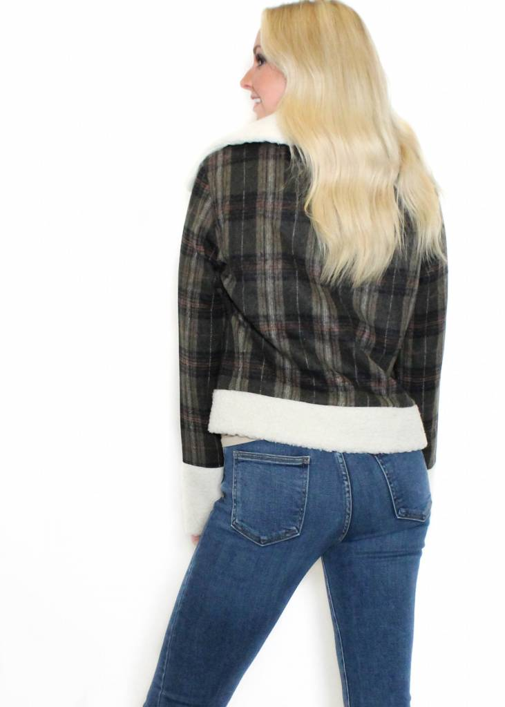 KATHERINE PLAID JACKET