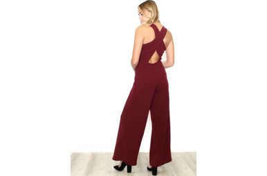 LEXI CRISS CROSS JUMPSUIT