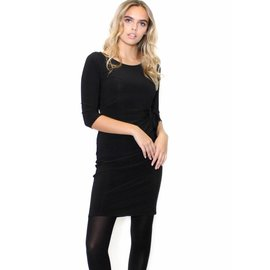 SABRINA BLACK BODYCON DRESS
