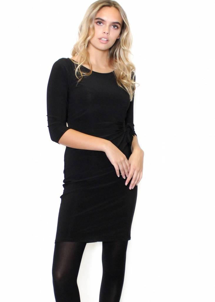 SABRINA BLACK BODYCON DRESS