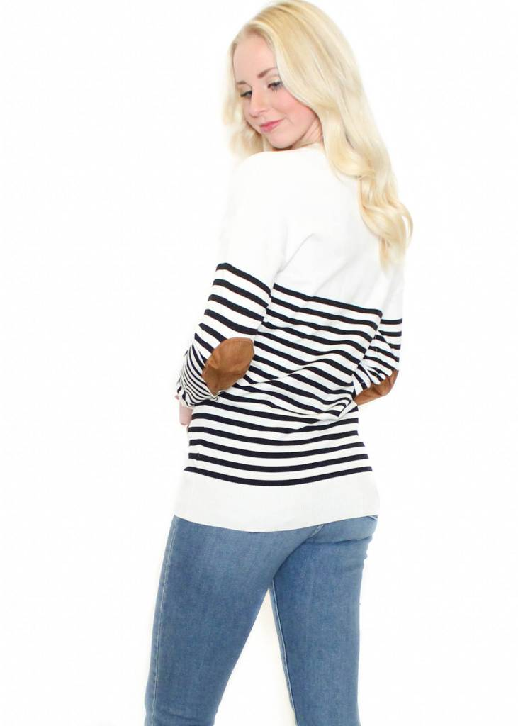 CYNDI STRIPED SWEATER