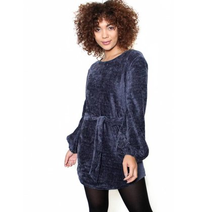 ALLISON CHENILLE SWEATER DRESS