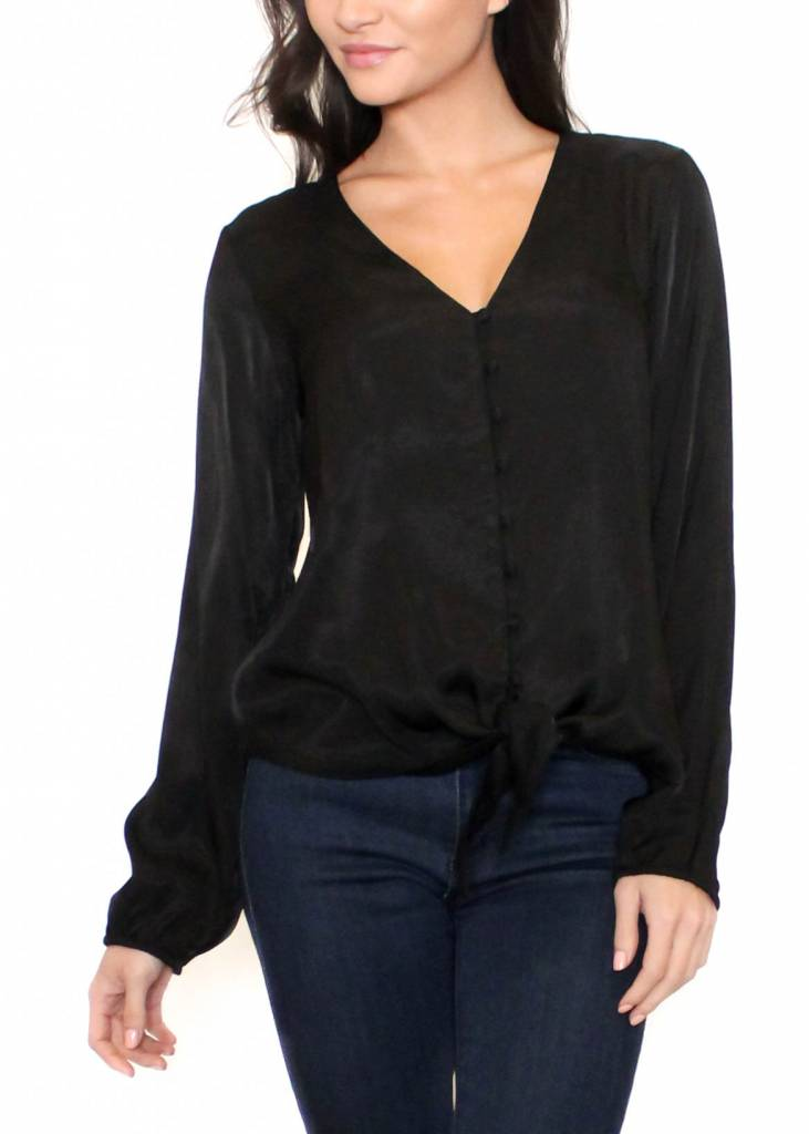 LADY IN BLACK BLOUSE