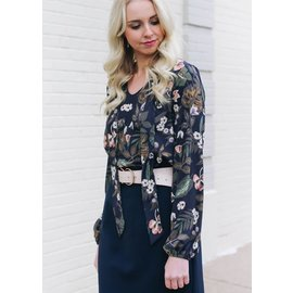 LOVE GAMES FLORAL BLOUSE