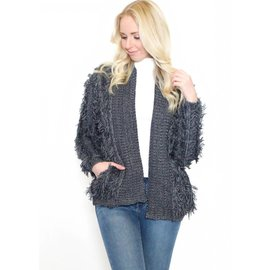 CITY NIGHTS OPEN CARDIGAN