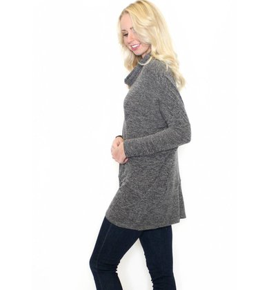 HARLOW COWL NECK TUNIC