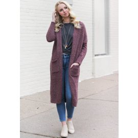 CITY OF LOVE LONG CARDIGAN