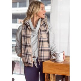 MADELYN PLAID VEST