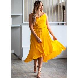 LEMONADE FLOWY DRESS