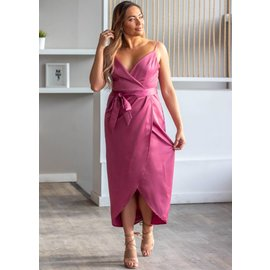 FOREVER & ALWAYS MAUVE DRESS