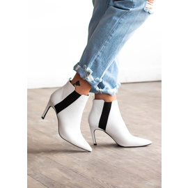 SHAYLA WHITE BOOTIES