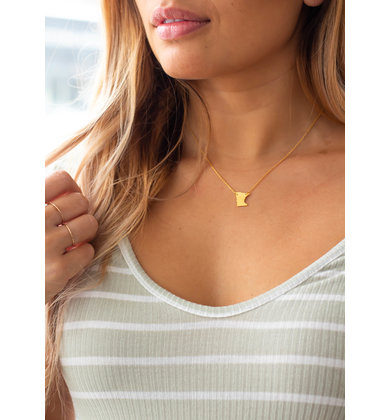 MN GOLD STATE NECKLACE