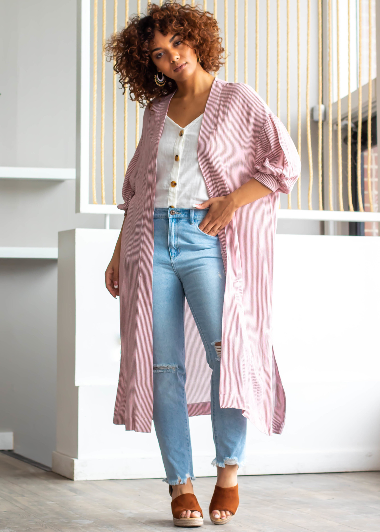 EAST VILLAGE DUSTER CARDIGAN