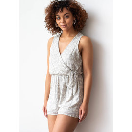WEST END PRINTED ROMPER