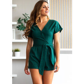 MOSCOW SHORT SLEEVE ROMPER