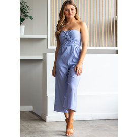 CLOUD NINE STRAPLESS JUMPSUIT