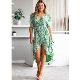 ALOHA PRINTED DRESS
