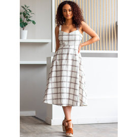 BRUNCH DATE MIDI DRESS