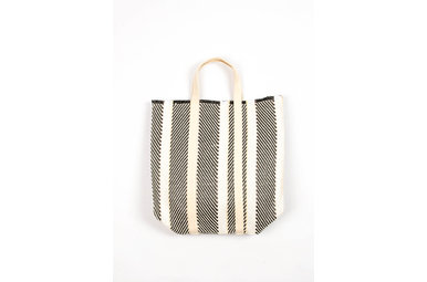 PARK STROLL WOVEN TOTE BAG