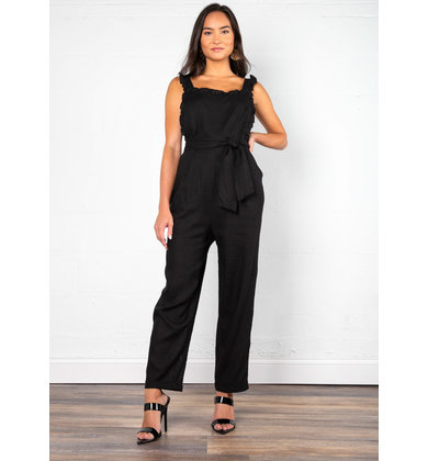 ROOFTOP BLACK JUMPSUIT