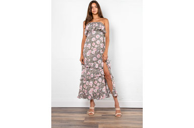 LOVE STORY STRAPLESS DRESS