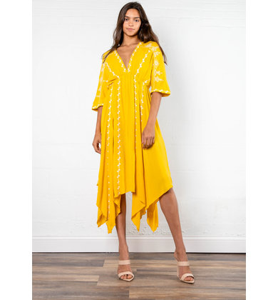 TASTE OF HONEY MIDI DRESS