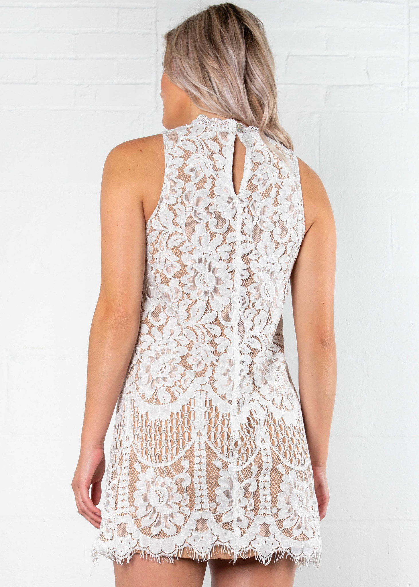 FOREVER + ALWAYS LACE DRESS