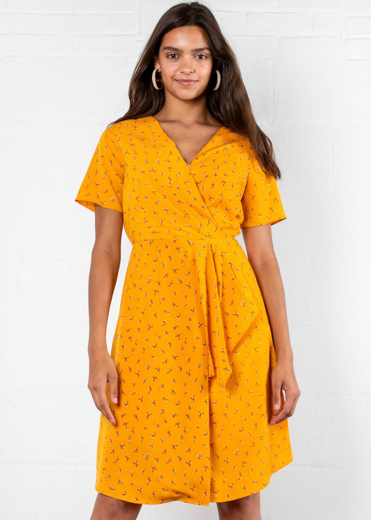 HONEYSUCKLE PRINTED DRESS